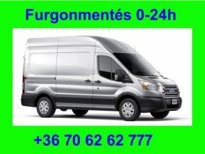 Furgonmentés Kisteherautó mentés 0-24h Hívjanak +36 70 62 62 777